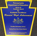 Paradise Elementary Recognized for Academic Excellence!