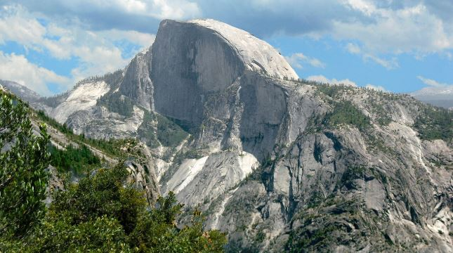 Half Dome in Yosemite NP