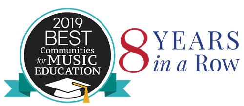 2019 Best Communities for Music Education 8 Years in a Row