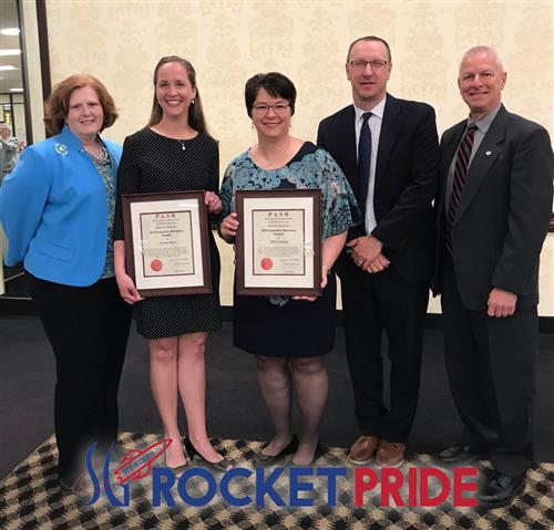 SGASD's Mrs. Moser and Mrs. Zavatzky Honored by YCREA