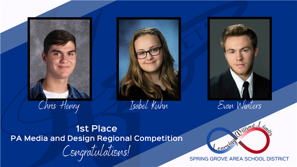 SGAHS AVJ Students Place First at Regional Competition