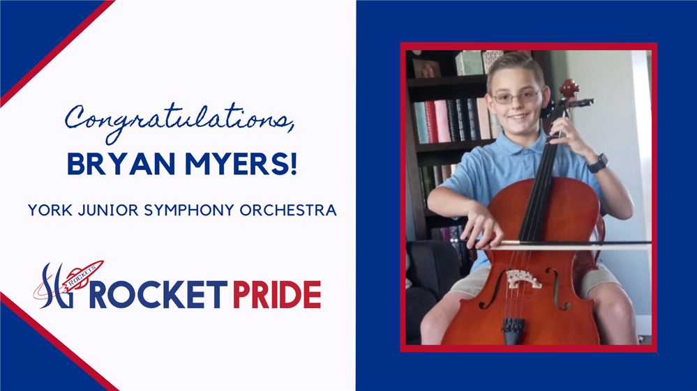 SGI Student Selected to Participate  in the York Junior Symphony Orchestra
