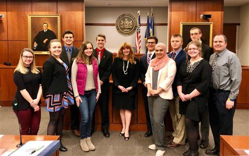 SGAHS Mock Trial Team Heads to the State Competition