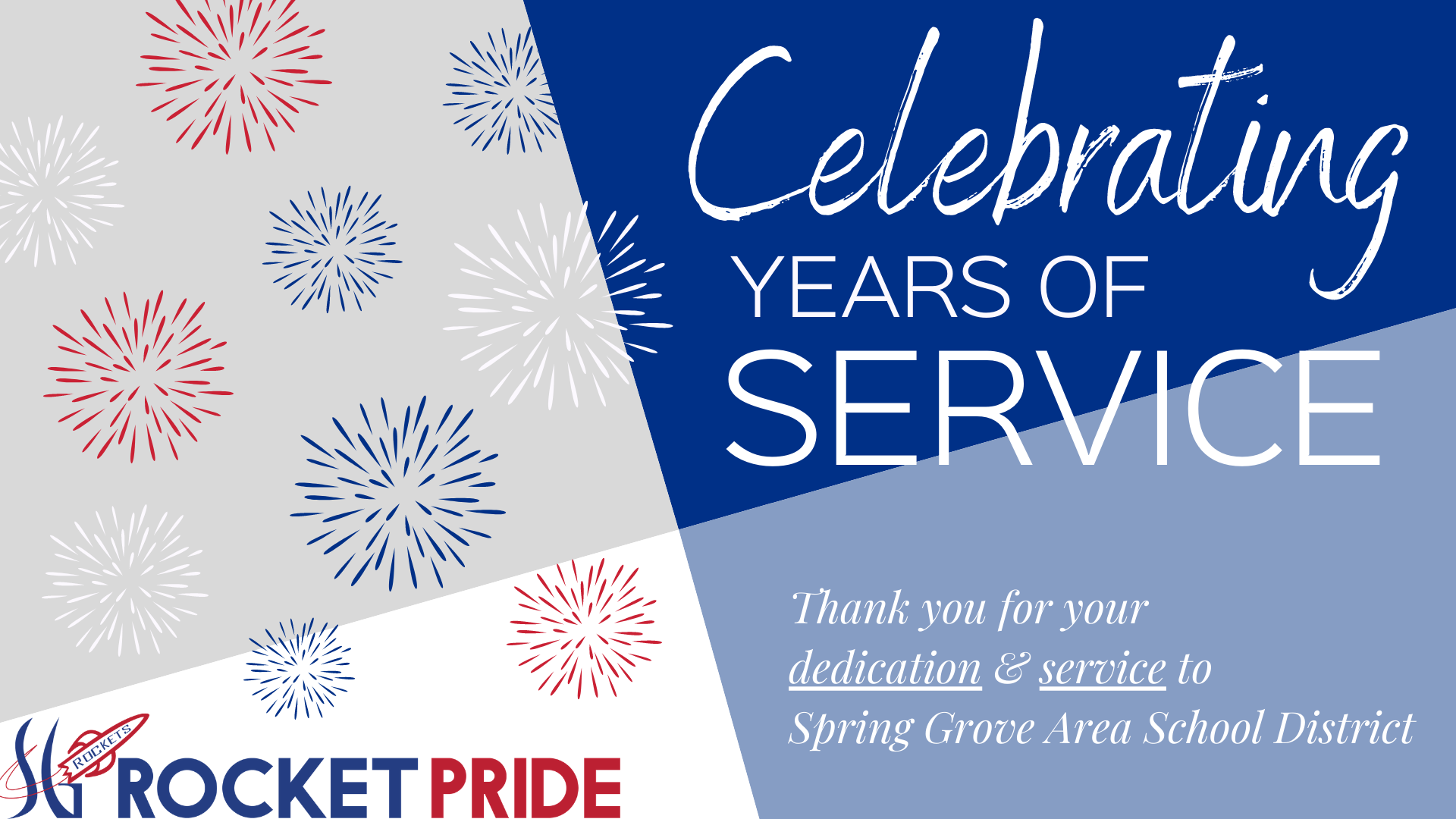 Celebrating Years of Service