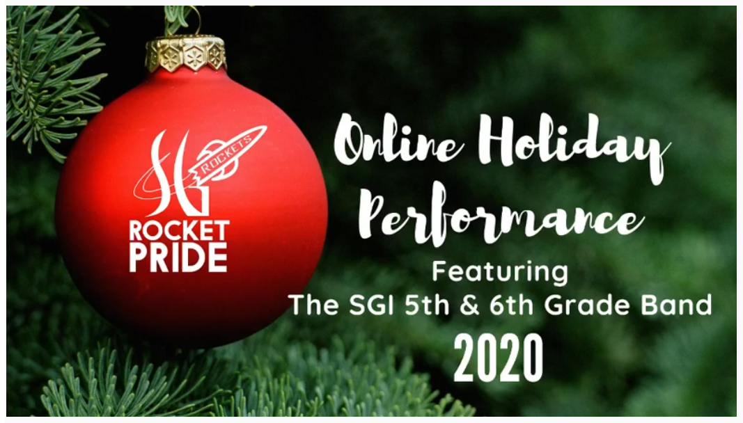 🥁 Enjoy a little holiday cheer with a performance by the SGI Band!