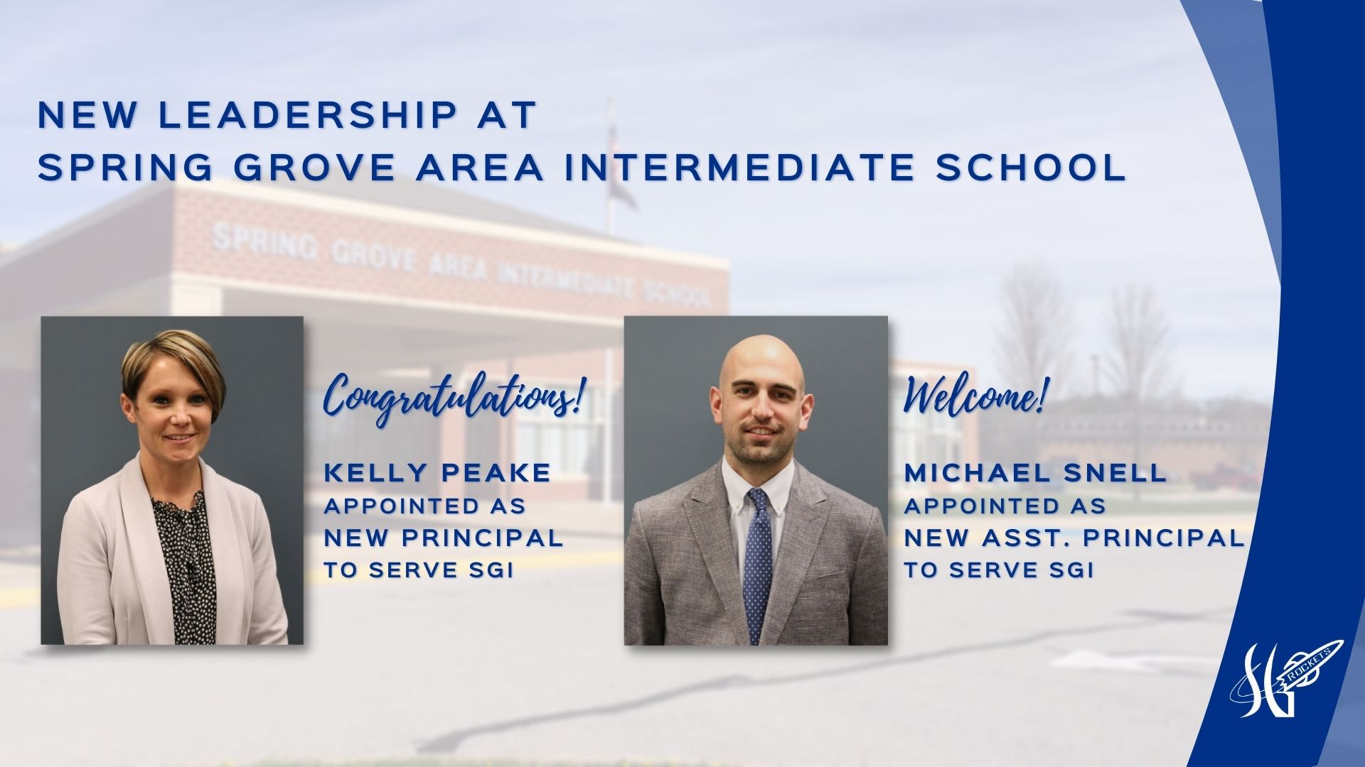 New Leadership at Spring Grove Area Intermediate School