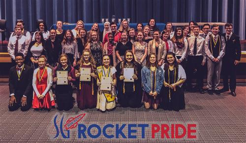 SGAHS Students Inducted into the International Thespian Society