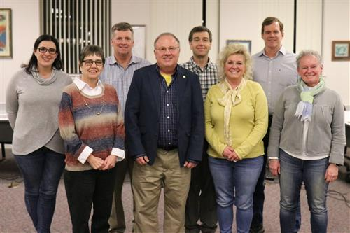 Group picture of the SGASD School Directors- missing Douglas White