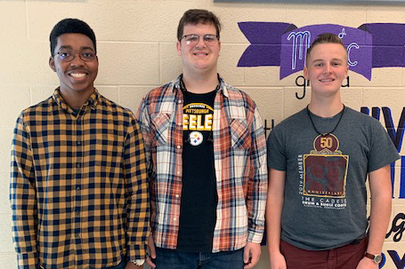 Three SGAHS Students Selected for PMEA District 7 Chorus