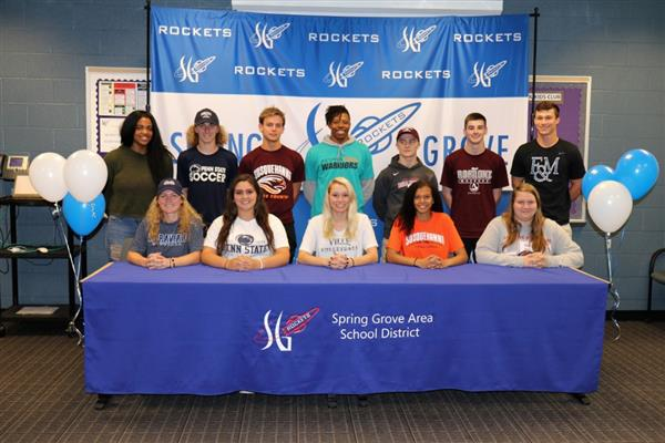 2018 Spring Grove Collegiate Signing Day