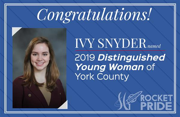 Ivy Snyder Named York County's 2019 Distinguished Young Woman