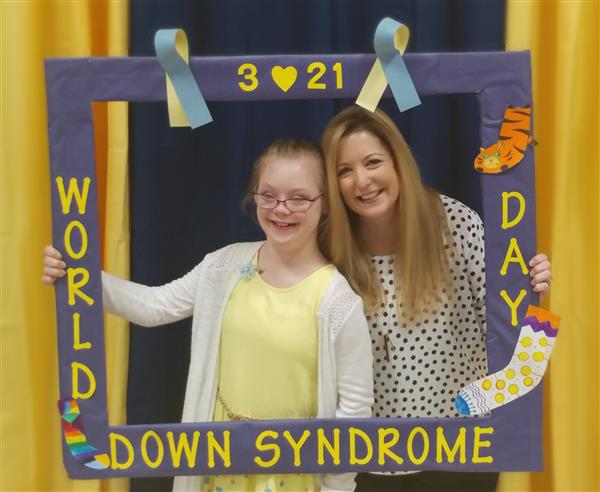 Kerri Henry Honored as an Educator of the Year at 2019 World Down Syndrome Day Celebration
