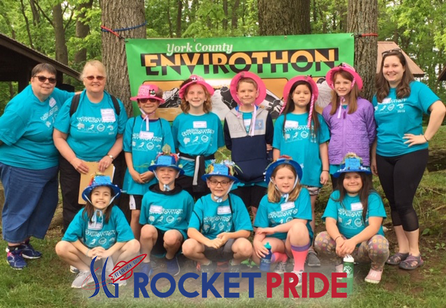 Paradise Teams Picture at Envirothon