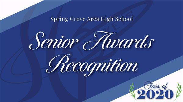 SGAHS Senior Awards Recognition