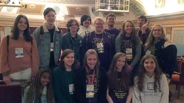 SGAHS Students Attend the 2019-2020 PA State Thespian Conference