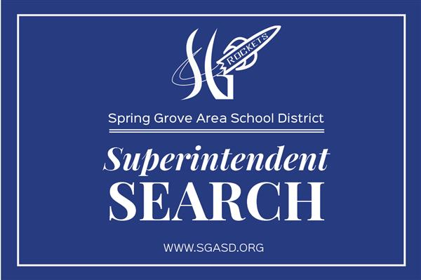 Superintendent Search Updates