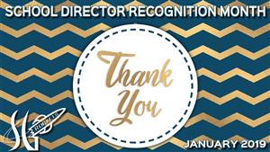 School Director Recognition Month