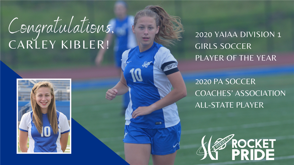 SGAHS Senior, Carley Kibler, Receives Top Soccer Honors
