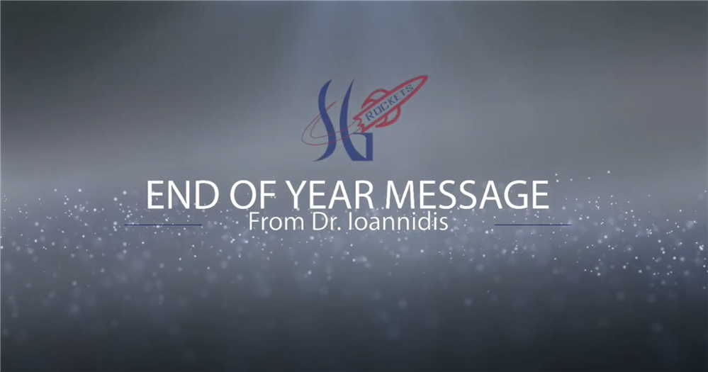 June 15, 2020: End of Year Message from Dr. Ioannidis